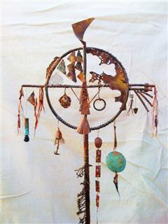 Copper Talisman Staff (1)