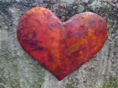 Crimson Copper Heart