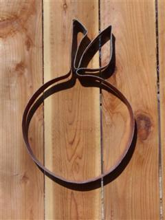 Steel Hoop Art - Cherry